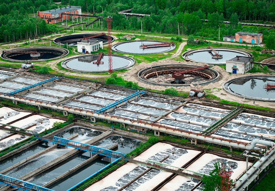 16 Waste Water Treatment Plants