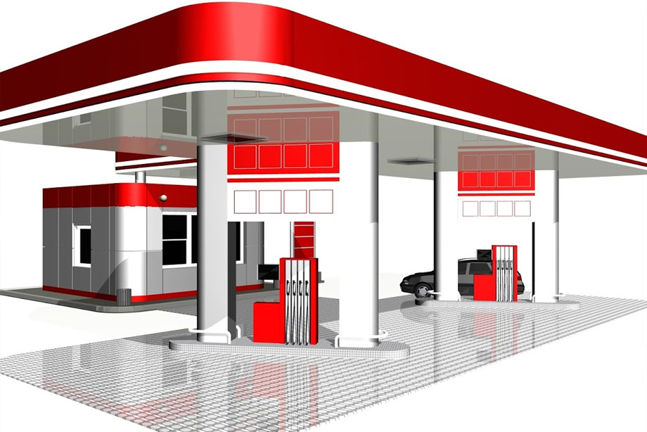 Construction and operation of a service Station in Ica